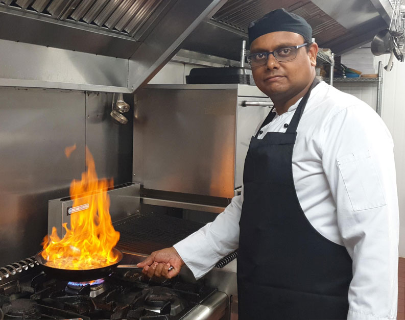 our chef